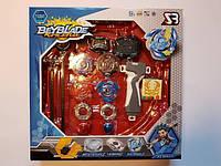 Набор: 4 Бейблейда Beyblade + Арена + рукоятка StormGyro BB807