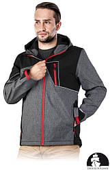 Куртка чоловіча робоча Leber&Hollman Польща (утеплений робочий одяг) LH-DRIZEL SB