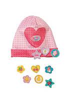 Шапочка кукол Беби Борн розовая Baby Born Zapf Creation 825440