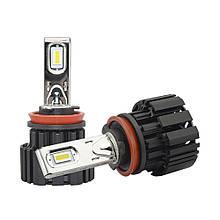 Светодиодная лампа P9 цоколь H7, CREE GSP 6500К, 13600 lm 50W, 9-36В