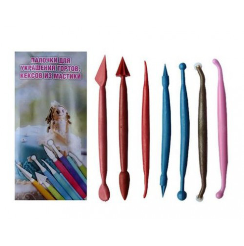 Ножи для мастики 7 штук