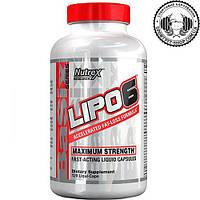 Nutrex Lipo-6 Liqui caps Maximum Strength 120 caps