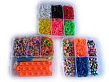 Набор для творчества Cube-3000 со станком Половинка(в стиле Rainbow Loom), фото 4