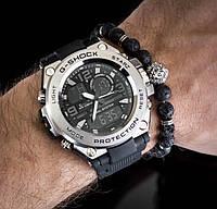 Мужские спортивные часы Casio G-Shock G-Steel Silver копия