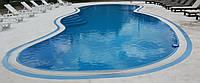 Бассейн переливной 16,1 x 6,1 x 1,1 - 2