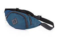 Поясная сумка бананка LID синяя, фото 1