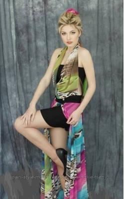 Сарафан жіночий довгий в підлогу молодіжний сарафан літній ошатний шифоновий