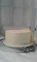 Шпатель для выравнивания тортов -металлический угловой регулируемій  20  на 20 см
