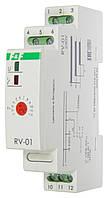Програмоване реле часу RV-01 із затримкою включення 1-12 сек.; 10-120 с. F&F