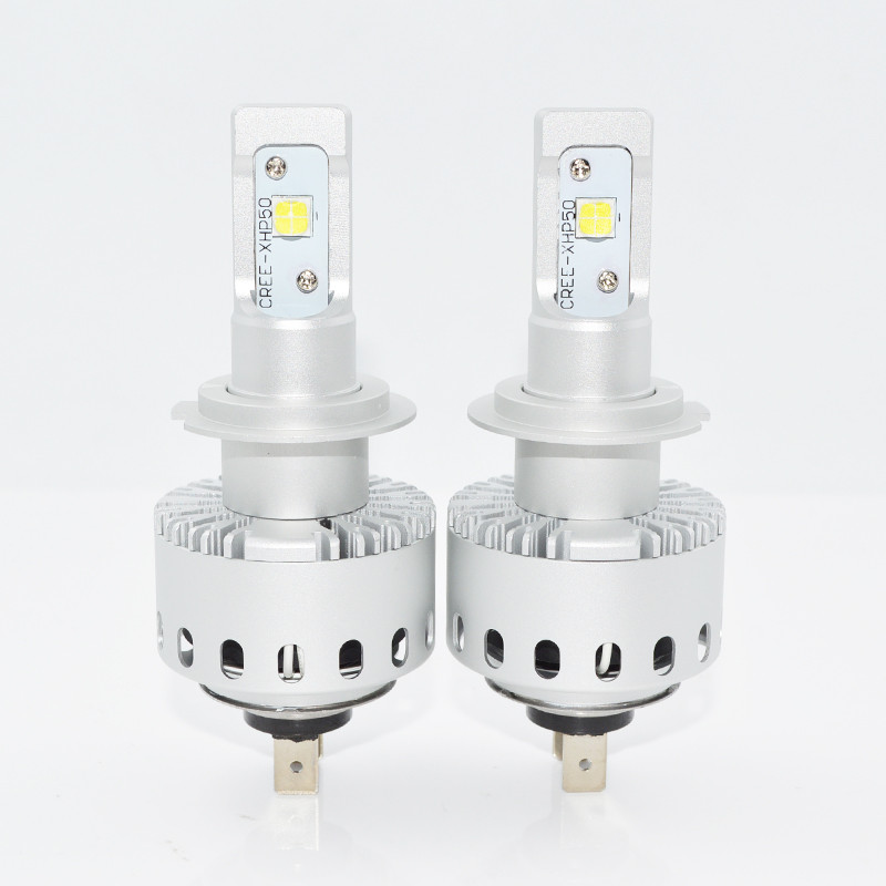 Светодиодная лампа 7S цоколь H7, CREE GSP 6000К, 8000 lm 40W, 9-36В