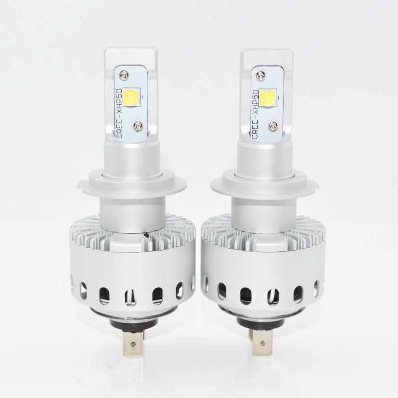 Світлодіодна лампа 7S цоколь H7, CREE GSP 6000К, 8000 lm 40W, 9-36В