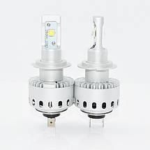 Світлодіодна лампа 7S цоколь H7, CREE GSP 6000К, 8000 lm 40W, 9-36В, фото 2