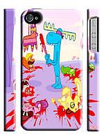 Чехол для iPhone 4/4s/5/5s/5с/ 6  happy tree friends / веселые лесные друзья лось бита кровь