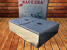 Бытовой инкубатор «Наседка» 140 с механическим переворотом в металлическом корпусе, фото 2