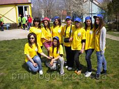 Печать на футболках Киев