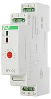 Програмоване реле часу RV-02 з затримкою вимикання 1-12 сек.; 10-120 с. F&F