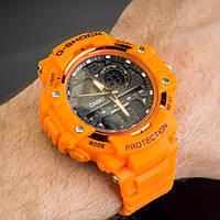 Мужские спортивные часы Casio G-Shock GBA-800 ORANGE
