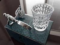 Стакан для зубных щеток KUGU Versace 206C Хром, фото 1
