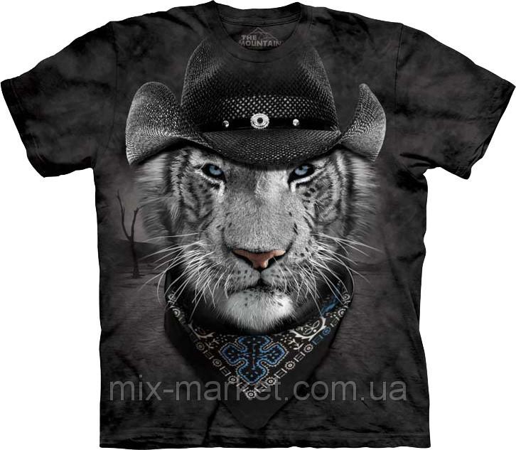 Футболка The Mountain - Cowboy White Tiger - 2014