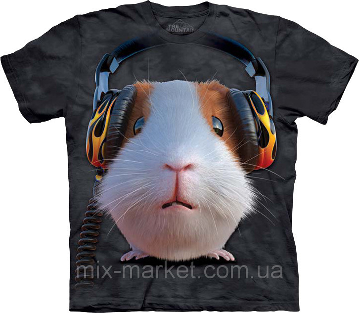 Футболка The Mountain - DJ Guinea Pig - 2014