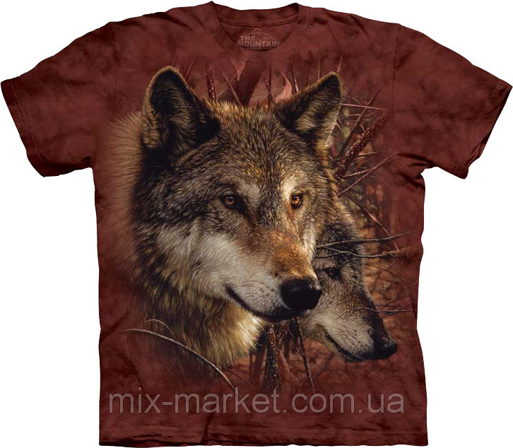 Футболка The Mountain - Forest Wolves - 2014