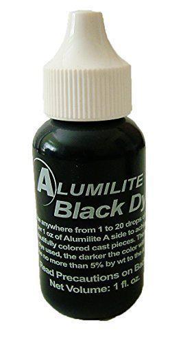 Фирменный краситель для смол ALUMILITE (США), черный