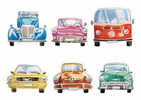 """Открытка """"Old cars"""", фото 1"""