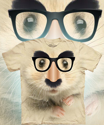 Футболка The Mountain - Big Face Hamster of Mystery - 2014