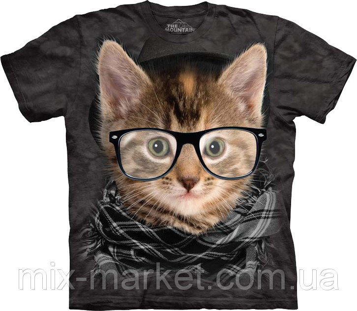 Футболка The Mountain - Hipster Kitten - 2014