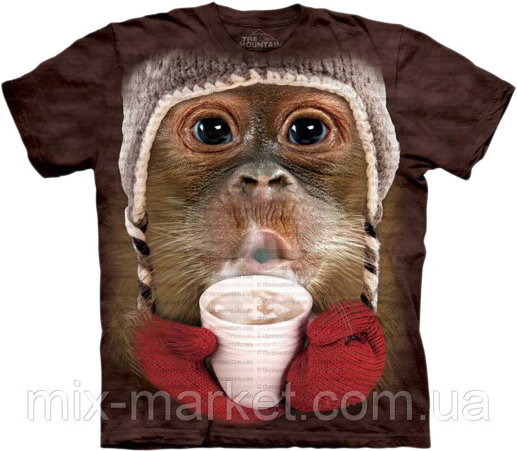Футболка The Mountain - Hot Cocoa Orangutan - 2014