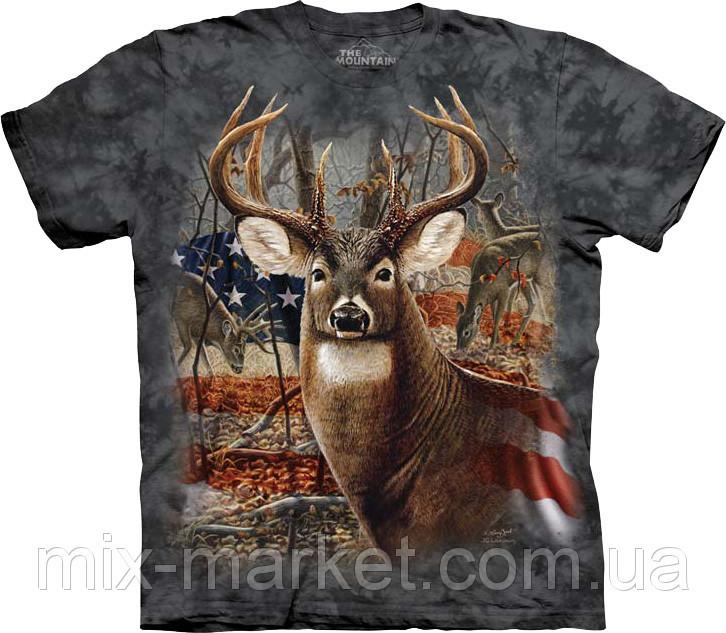 Футболка The Mountain - Patriotic Buck - 2014
