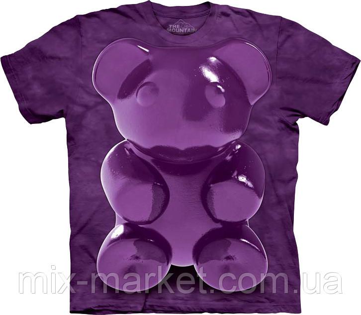 Футболка The Mountain - Purple Chewy Bear - 2014