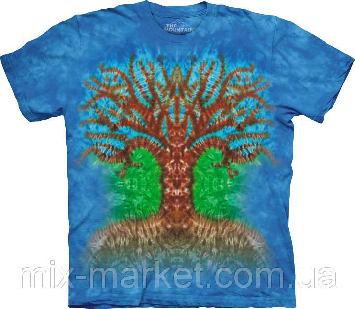 Футболка The Mountain - Tie Dye Tree - 2014