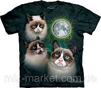 Футболка The Mountain - Three Grumpy Cat Moon
