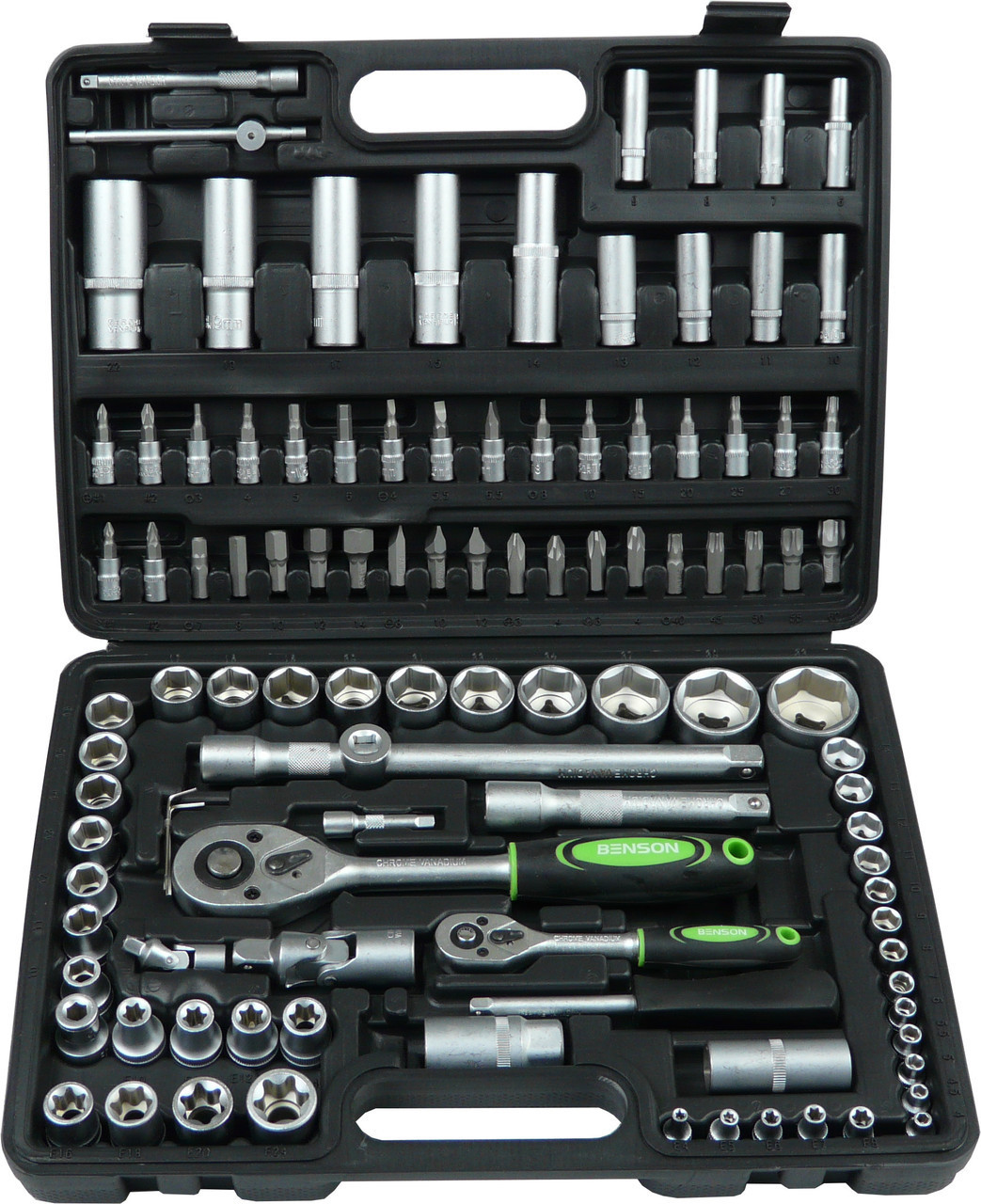 Профессиональный набор инструментов Benson 108 предметов (10410)