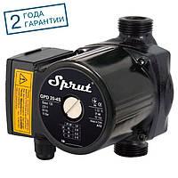 Насос циркуляционный Sprut GPD 20-4S-130, присоединительный комплект