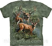 Футболка The Mountain - Deer Collage- 2013
