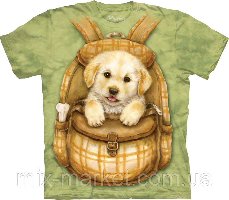 Футболка The Mountain - Puppy Backpack- 2013