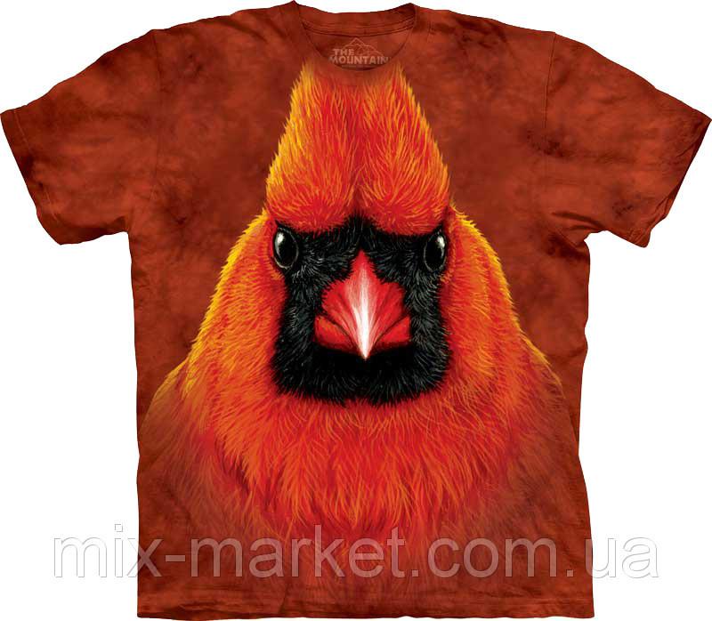 Футболка The Mountain - Red Cardinal Portrait
