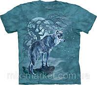 Футболка The Mountain - Wolf Tree Silhouette