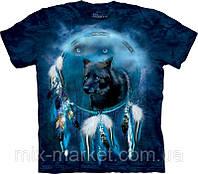 Футболка The Mountain - Black Wolf Spirit Shield