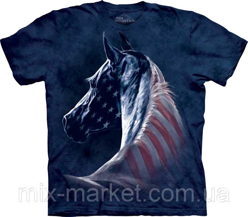 Футболка The Mountain - Patriotic Horse Head