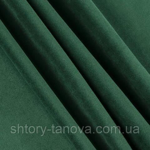 Велюр смарагдово-зелений