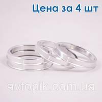 Центровочные кольца ZW 66.6 / 57.1 Алюминий