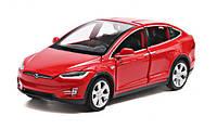 Коллекционный автомобиль Tesla Model X 90 (красный)
