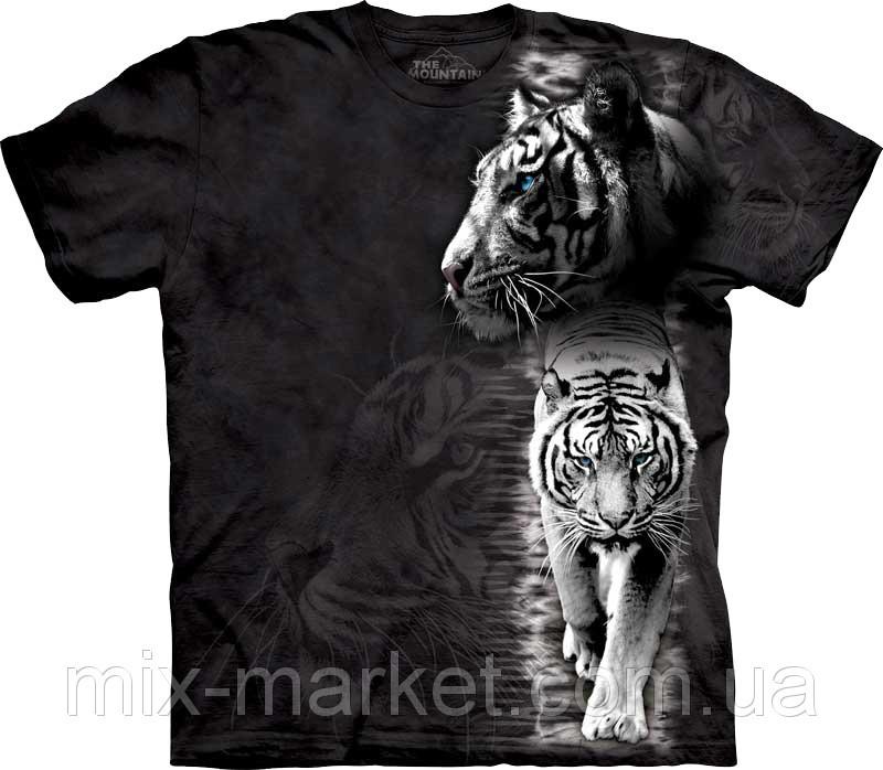 Футболка The Mountain - White Tiger Stripe