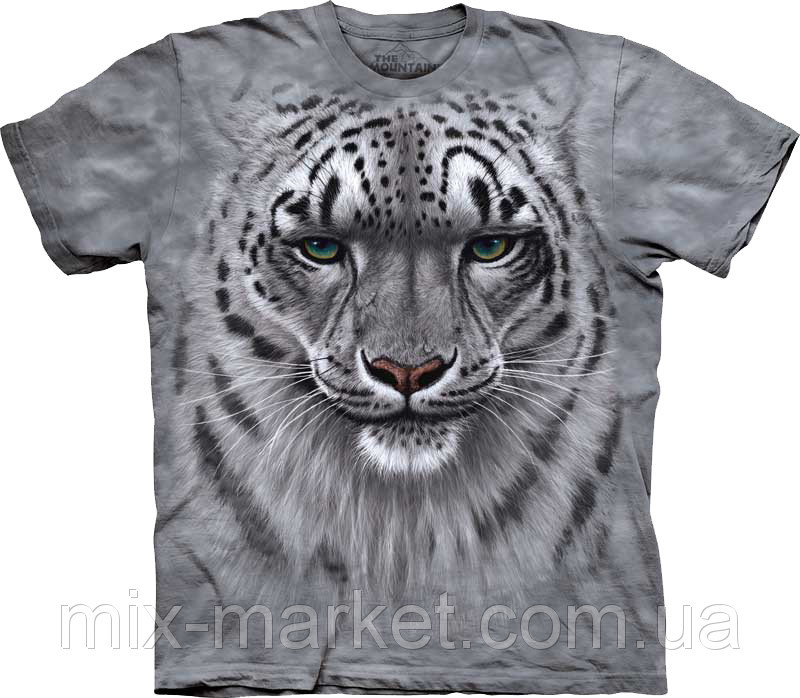 Футболка The Mountain - Snow Leopard Portrait