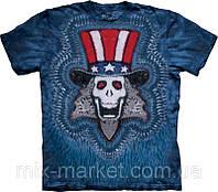 Футболка The Mountain - Uncle Sam Tie Dye