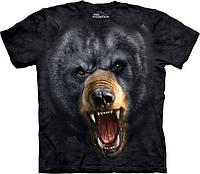 3D футболка The Mountain -  Aggressive Nature Black Bear