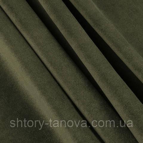 Велюр зелений мох